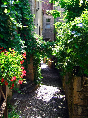 Lovely Alley Saint-Cirq Lapopie France