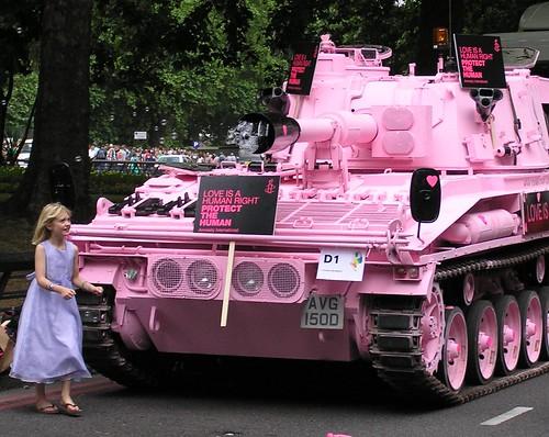 Tiananmen - Gay Pride style