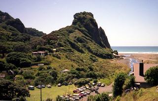 Karekare, Auckland, New Zealand 1990