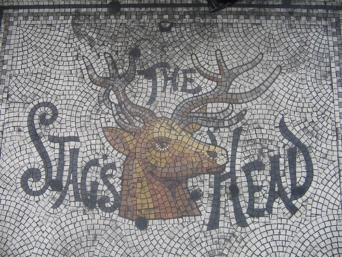The Stag's Head - mosaic