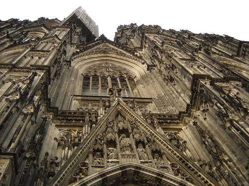 Cathedral or cliff-face? by Diane Duane