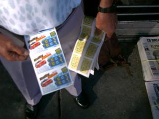 Vendedor de lotería