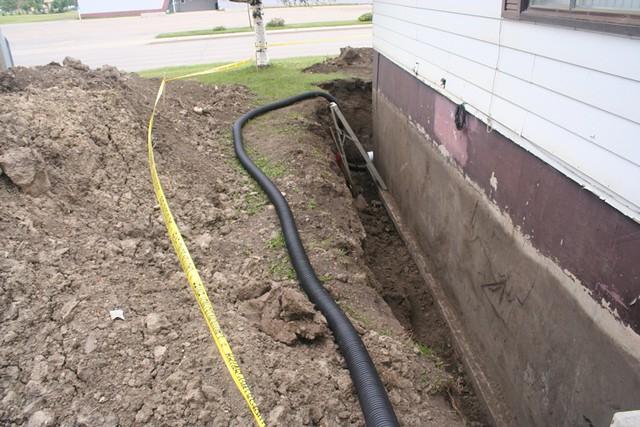 drain tile project