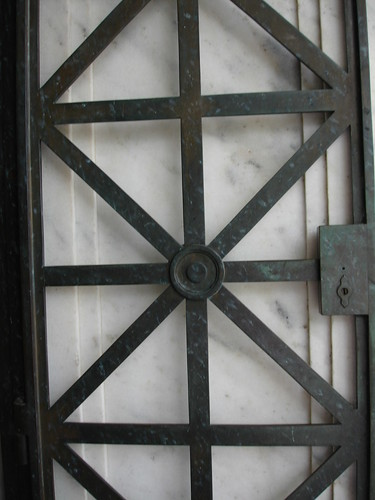 Metalwork Doors at Illinois Monument, Vickburg