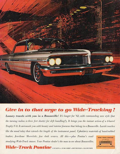 1962 Pontiac Bonneville Classic Automobiles