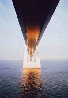 Bridge between Denmark & Sweden