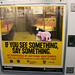 Pig, Downtown 6 Train by tangentialism
