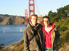 Me and David at the Golden Gate