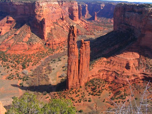 Spider Rock, Canyon de Chelly National Monument