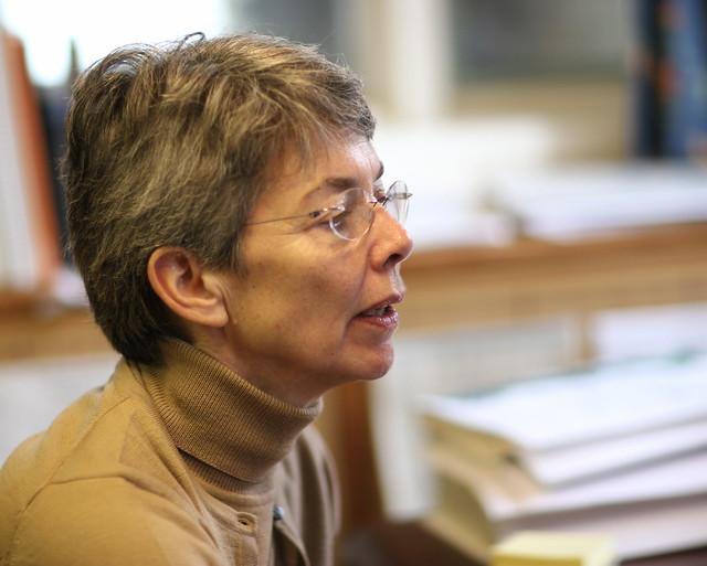 Anne at work