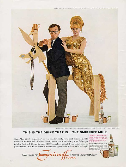 Smirnoff Vodka - Woody Allen
