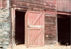 barn, wood, shack, door, facade,