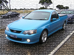 automobile, automotive exterior, pickup truck, vehicle, bumper, ford bf falcon, sedan, land vehicle,