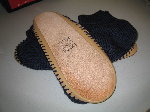 Knitting Patterns For Old Fashioned Slippers : Old-Fashioned Slipper Socks Flickr - Photo Sharing!