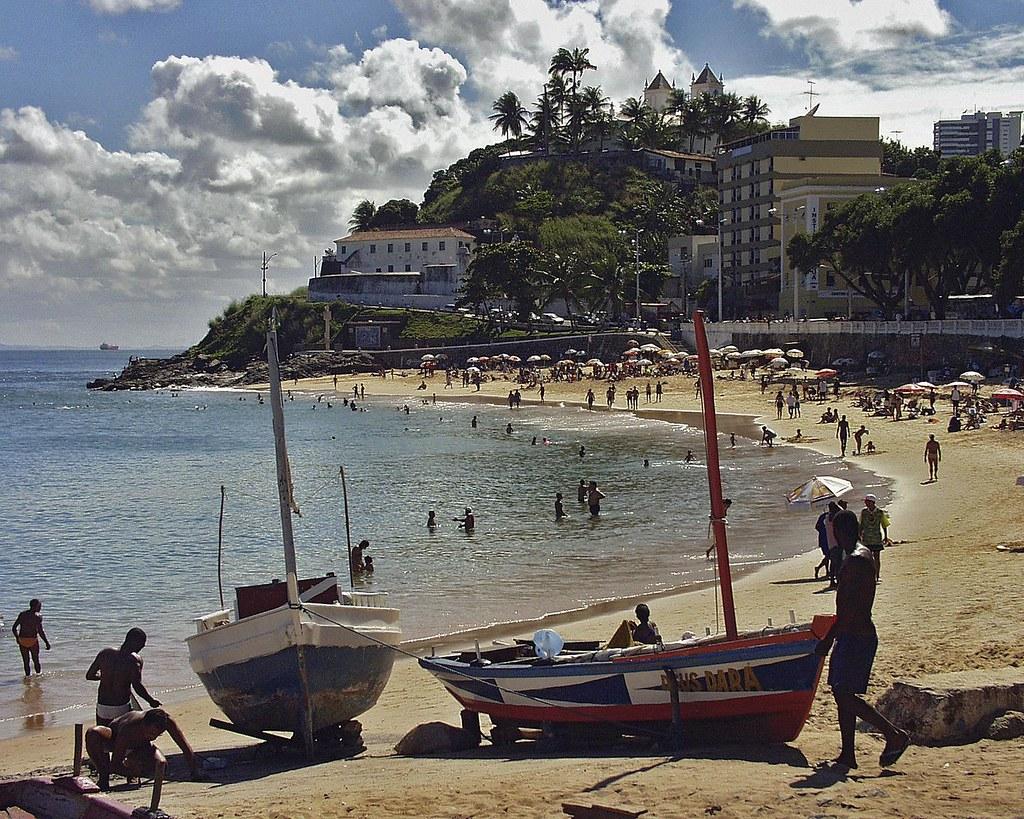 Porto da Barra пляж