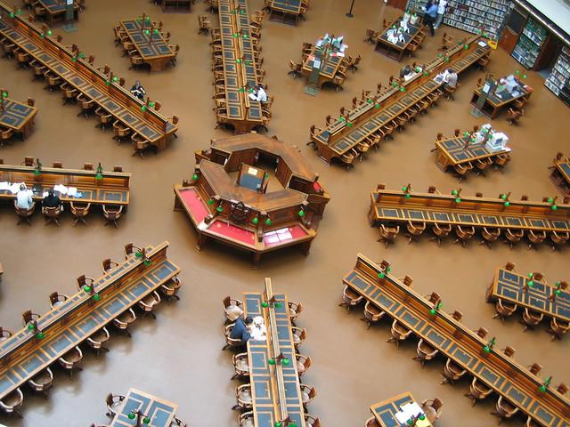 state library victoria, australia