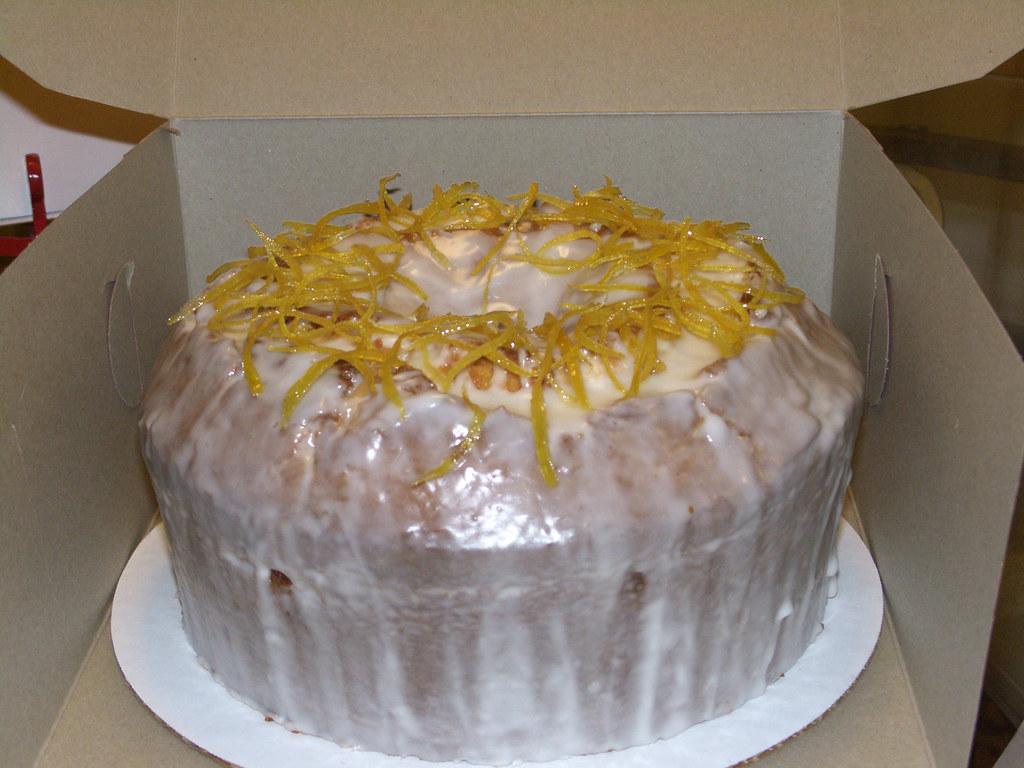 LEMON GLAZE FOR POUND CAKE