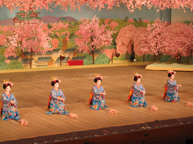 Cherry dance in Kyoto: 京都、 都をどり 3