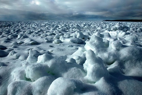 winter snow ice landscape michigan lakemichigan petoskey littletraversebay martinmcreynolds impressedbeauty