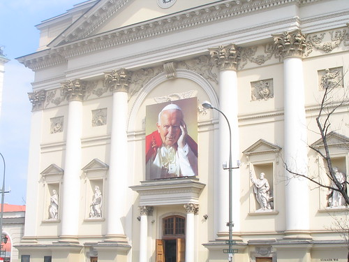 Pope John Paul II, an other hommage on a church