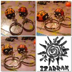 orange, keychain, iron,