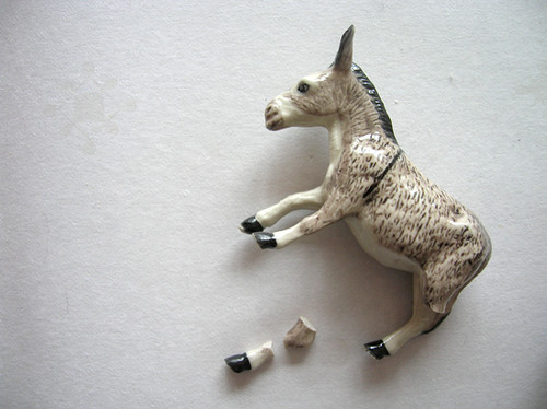 a broken donkey - debbiehill on flickr