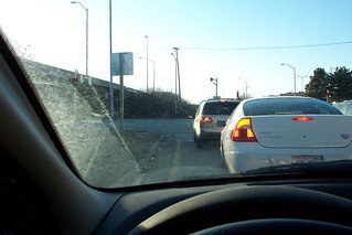 Driving...