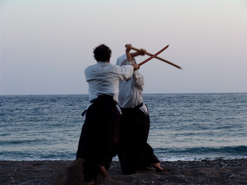 Aikido By The Sea.