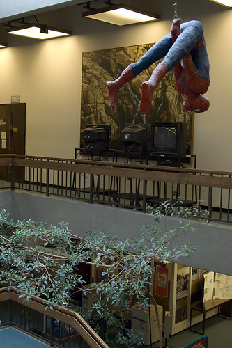 Spider Man, North Seattle Community College