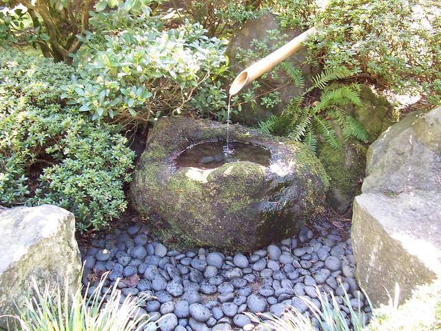 Japanese garden water feature flickr photo sharing for Japanese garden features