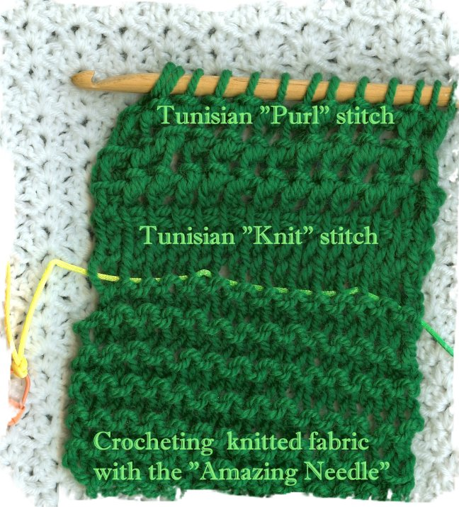 Knitting Vs Crochet Pictures : Crochetingwithdee march