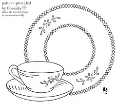 Mailorder 86 - teacup pattern