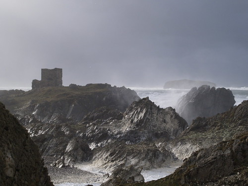 Storm at Old Castle Keep