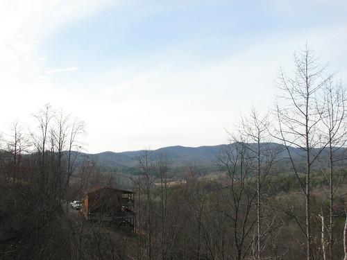 trip blue trees sky mountains clouds ga georgia landscape fun march cabin blueridgemountains 07 northgeorgia