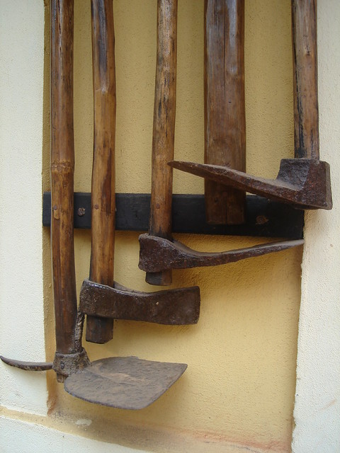 Implements of Goa's past...