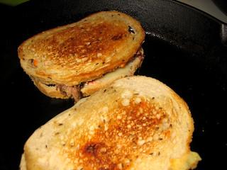 Original Reuben Sandwich story, and my best Reuben Recipe on Light Rye bread