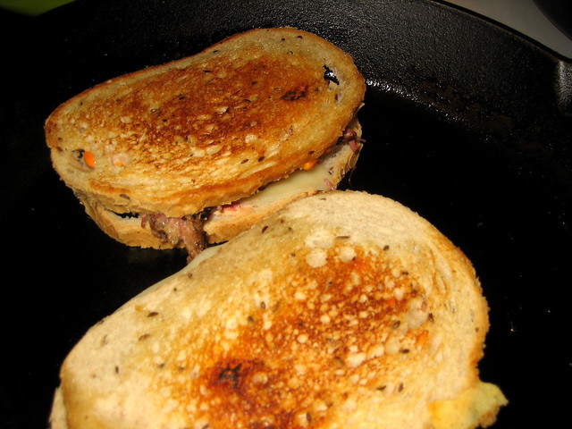 Reuben Sandwich story, and my best Reuben Recipe on Light Rye bread ...