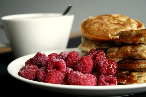 Pancakes & Raspberries