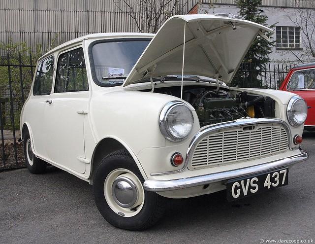 White Mk1 Mini  Flickr  Photo Sharing!