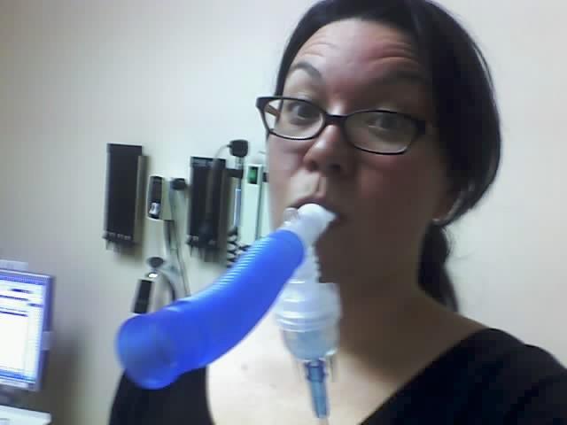 albuterol breathing treatment machine