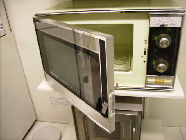 Old Microwave Oven ~ Old school microwave oven pentax image by