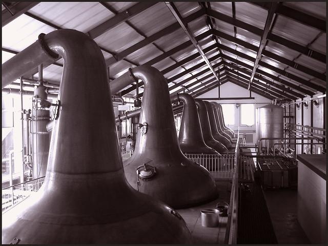 Still room, Ardmore Whisky Distillery