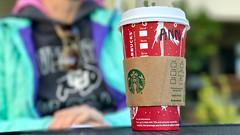 Ann at Starbucks