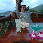 Orchids and Blue Margarita - Haad Yao, Thailand