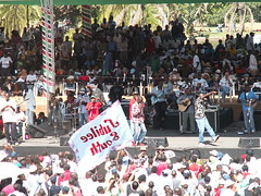 World Social Forum 2007 Closing @ Uhuru Park (Nairobi, Kenya)