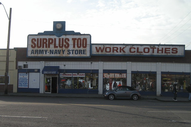 The Federal Army & Navy Surplus store, with its MREs and Ghillie Suits, has been in business since the s.
