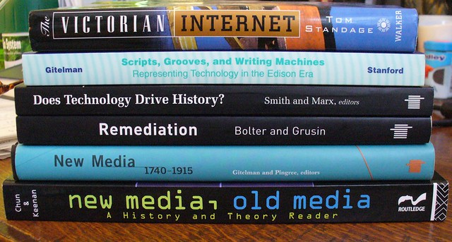 Photo:Old New Media Readings By:Krista76