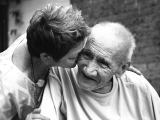 sweet old kiss