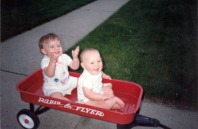 Joy in a Radio Flyer