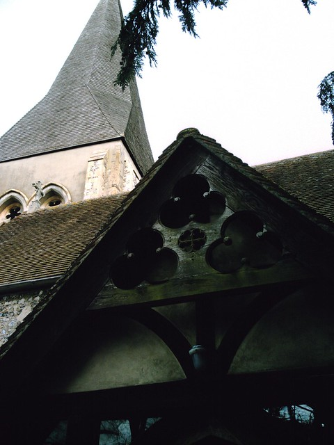 Church along the Whitchurch to Andover walk